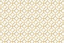 Gold Octagons mural