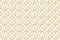 Gold Octagons mural