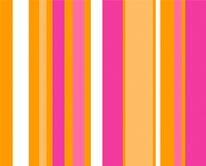 Sorbet Stripes mural