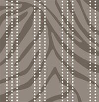Feather Zebra Stripes mural