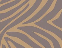 Tan Zebra mural