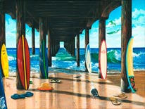 Pier Group mural