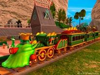 Its the Dinosaur Train mural