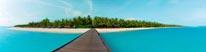 Sun Island Maldives mural