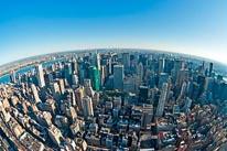 New York City Fisheye mural