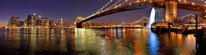 New York City Panorama mural