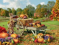 Autumn Treasures mural