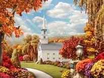 Inspiration - Fall mural