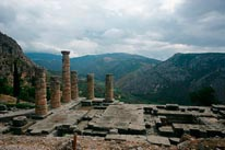 Delphi Greece mural