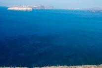 Clear Waters Of Santorini Greece mural