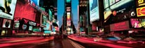 Times Square Dusk Panorama mural