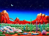 Red Rocks mural