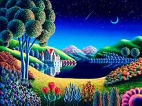 Blue Moon mural