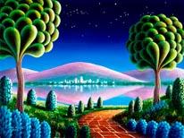 Silent Night mural