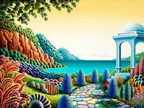 Almost Heaven 4 mural