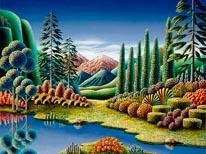 High Lands mural