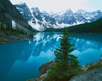 Moraine Lake Banff National Park Alberta Canada mural