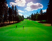 Golf at Indian Canyon mural
