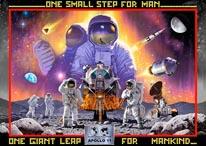 Apollo 11 mural