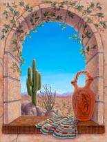 Saguaro View mural