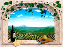 To A Good Harvest Vinyl Wall Decal mural