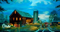 Golden Harvest mural
