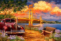 Golden Gate Gelsinger mural