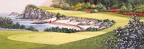 2nd Hole mural