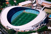 Aussie Stadium Sydney Australia mural