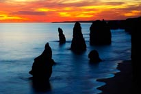 Sunset Twelve Apostles Port Campbell 2 mural