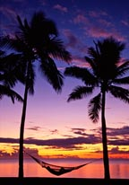 Denarau Island Sunset Fiji mural