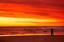 Sunset Over Southern Ocean Australia mural