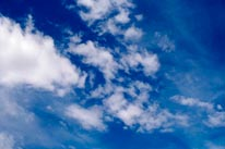 Clouds III mural