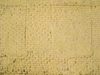 White Brick mural