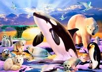 Polar Kingdom mural