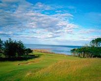 Kingsbarns Golf Links-8th Hole mural