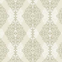 Diamond Damask - Taupe mural