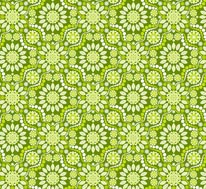 Florastar - Green mural