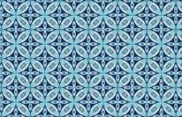 Iris - Blue mural