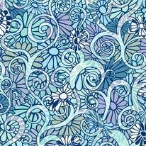 Day Trip - Blue mural