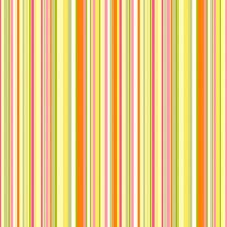 Simple Stripe - Pink Orange mural
