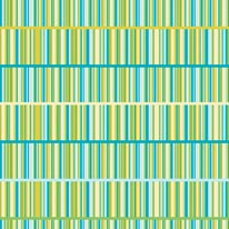Book Stripe - Turquoise mural