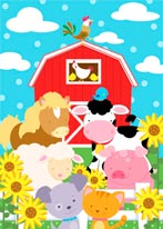 Farm Friends mural