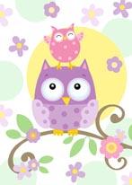 Owl Friends mural