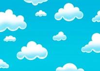 Soft Sky mural