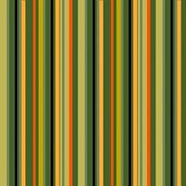 Geo Stripes - Olive mural