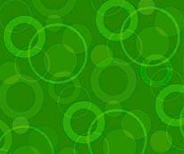 Raining Circles - Melon mural
