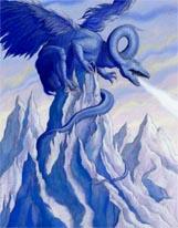 Winter Dragon mural