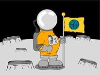 Astro Man mural