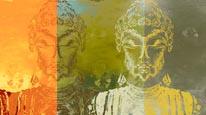 Buddhas mural